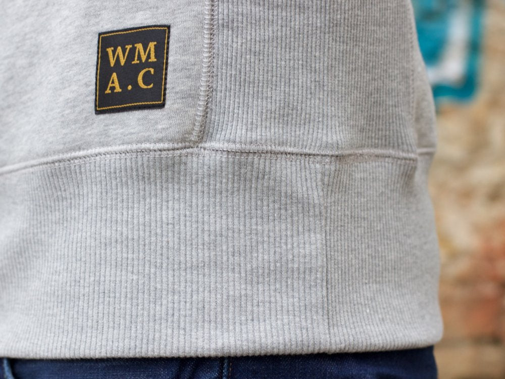 WM A.C Crew Neck Sweater Grey