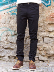 Nudie Jeans Lean Dean Cold Black