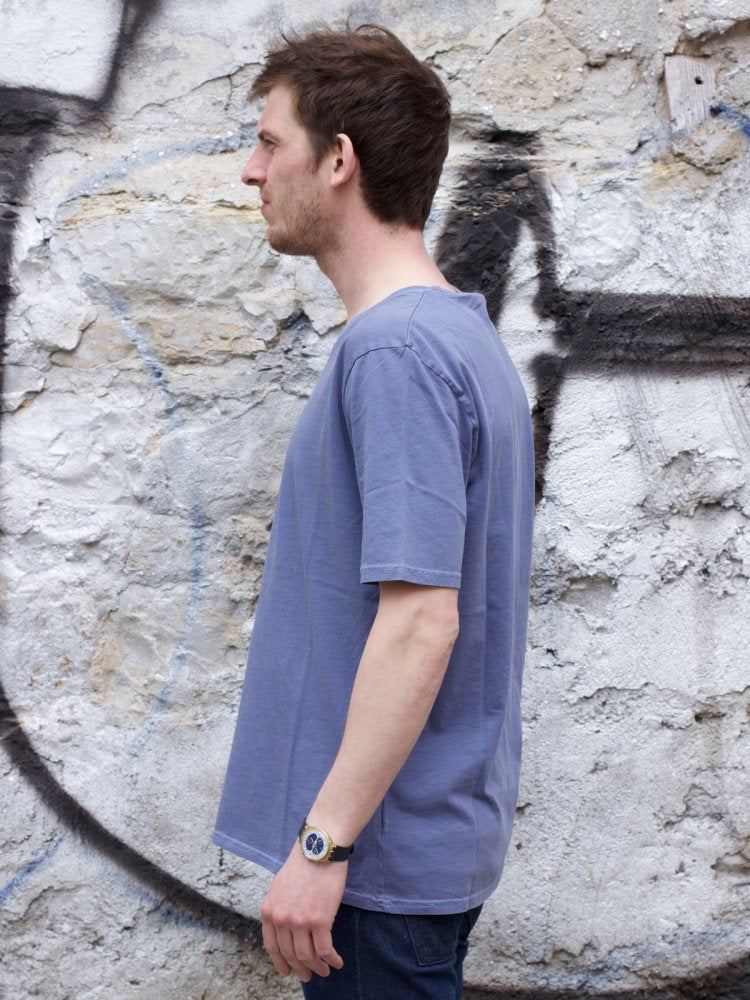 Nudie Jeans Regular Tee Indigo Dye