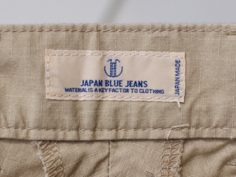 Japan Blue JB4200 - Army Rip Stop Stretch Beige