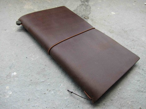 Midori Traveler's Notebook Brown