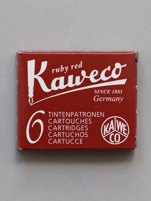 Kaweco Premium Ink Cartridges Ruby Red