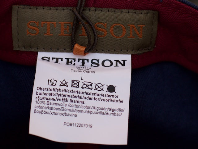 Stetson Texas Cotton Blue