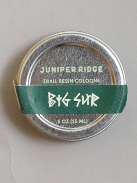 Juniper Ridge  Trail Resin Big Sur