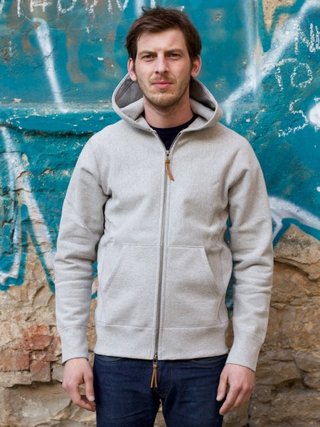 3sixteen Heavyweight Hoody Grey