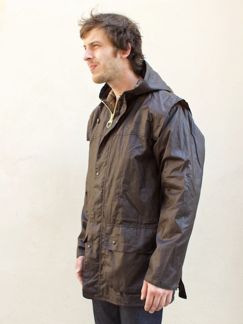 Barbour Classic Durham Waxed Jacket Olive