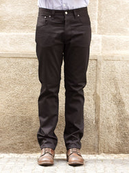 Nudie Jeans Steady Eddie Dry Black