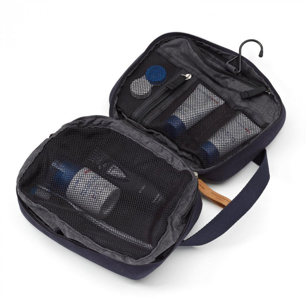 Qwstion Bags Toiletry Kit Organic Navy