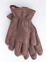 Red Wing Brown Buckskin Lined Gloves
