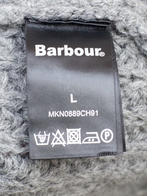 Barbour x White Mountaneering Finhara Crew Neck Charcoal