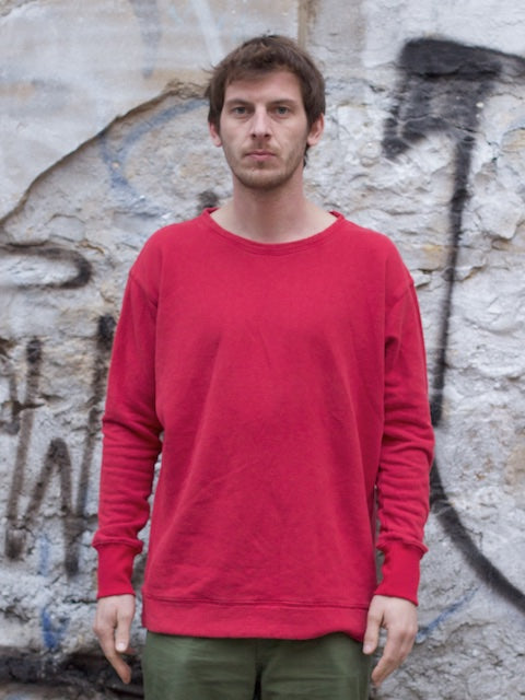 Jungmaven Crewneck Sweat 9,6oz Ox Red