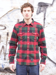 Eat Dust Clothing Western Shirt Cozy Check