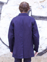 Soulive Indigo Chino Work Coat