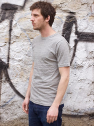 National Athletic Goods Athletic Tee Lightweight Grey