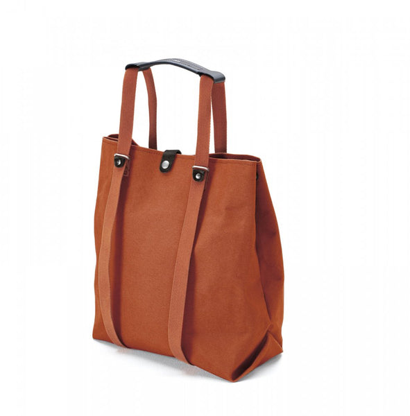 Qwstion Bags Shopper Organic Rust