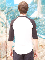 Jungmaven Stones Raglan Optic White/Black 7oz