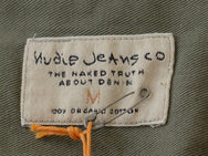 Nudie jeans Gunnar Over Dyed Olive