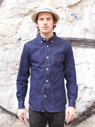 Japan Blue JB-SD01 8oz PW Military Shirt