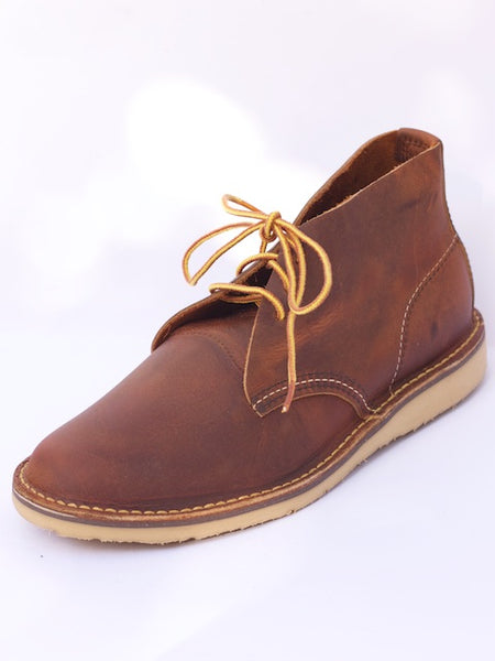 Red Wing Weekender Chukka Copper Rough&Tough