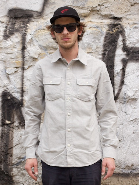 WM A.C. Son - Oxford Shirt Dusty Olive