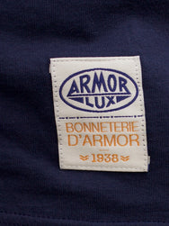 Armor Lux T-shirt Aviso/Orange Henne/Eclata