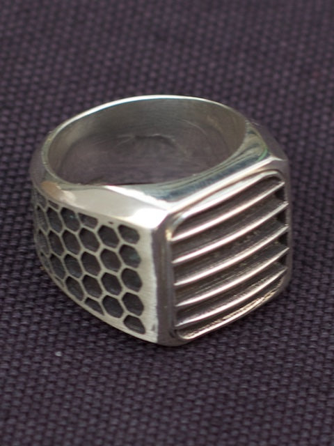 Rebel Heart Foundry 'Killer' Silver Signet style ring