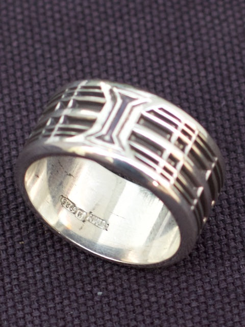 Rebel Heart Foundry Silver 'Tumbler' Ring