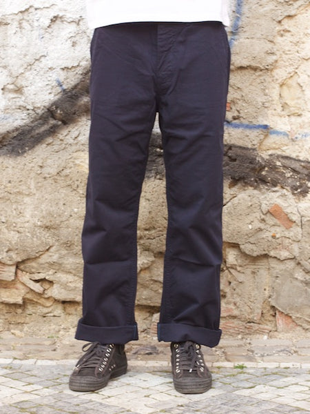 Japan Blue  JB7053 - Wide Chinos Navy