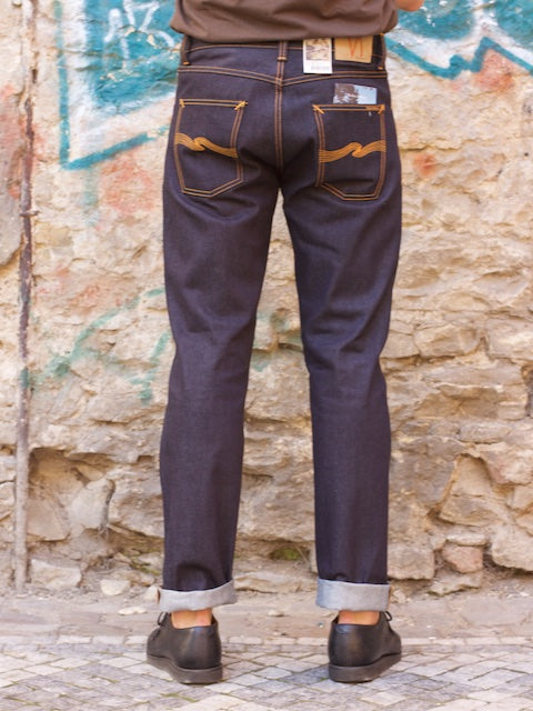Nudie jeans Steady Eddie Dry Classic Orange