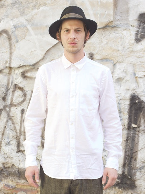 Hansen Garments Henning shirt, White