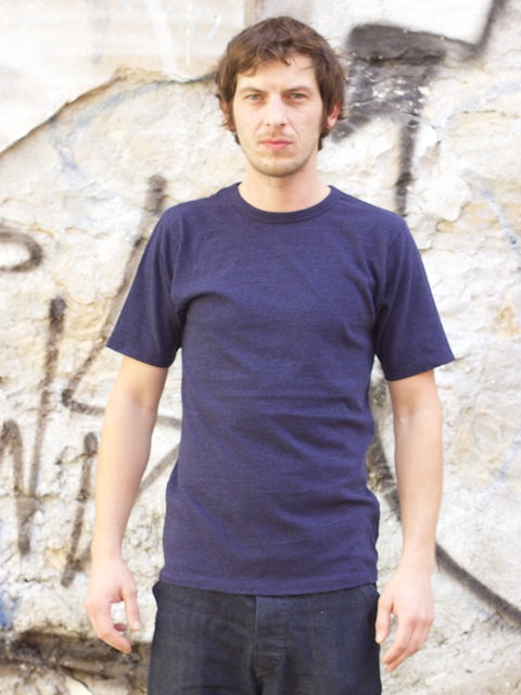 National Athletic Goods Athletic Tee Indigo