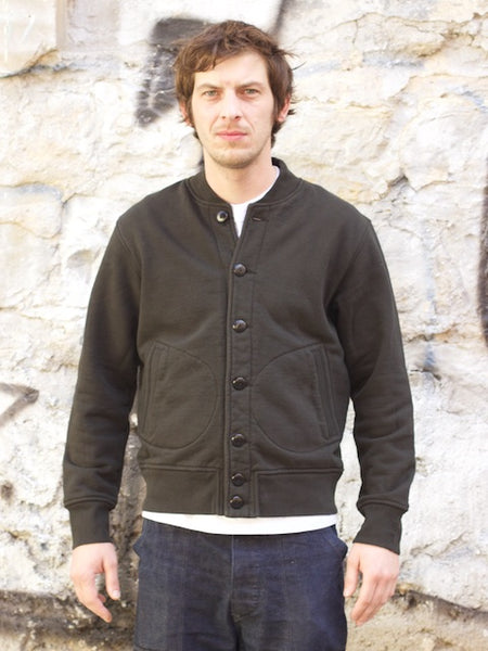 National Athletic Goods Stadium Jacket Black