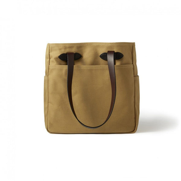 Filson Tote Bag Without Zipper Tan