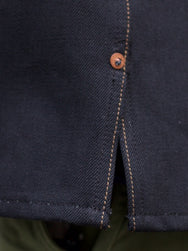 Indigofera Fargo Thunder Black Denim