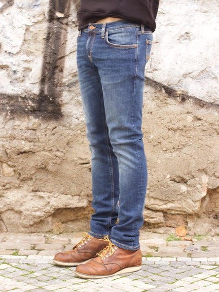 Nudie Jeans Long John Television Blue