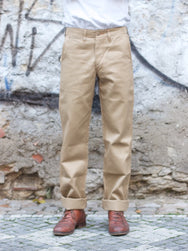 Studio d'Artisan 1349 Chino Trousers Beige