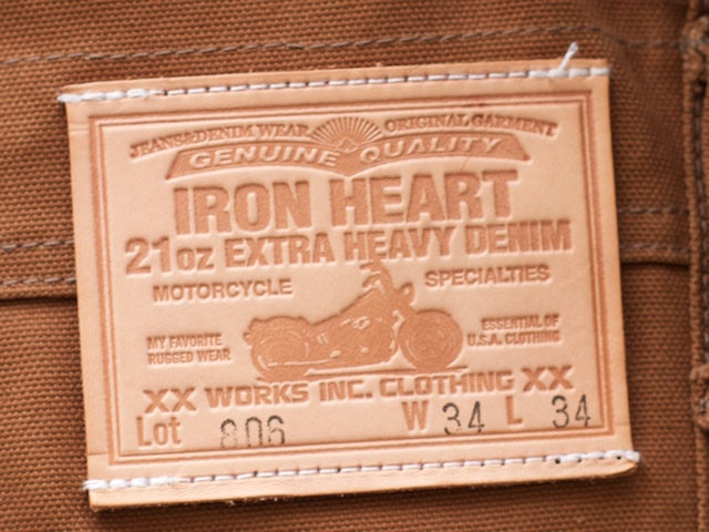 Iron Heart IH-806 Double Knee Overall