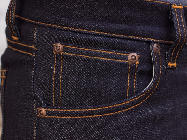 Nudie Jeans Tilted Tor Dry Pure Navy