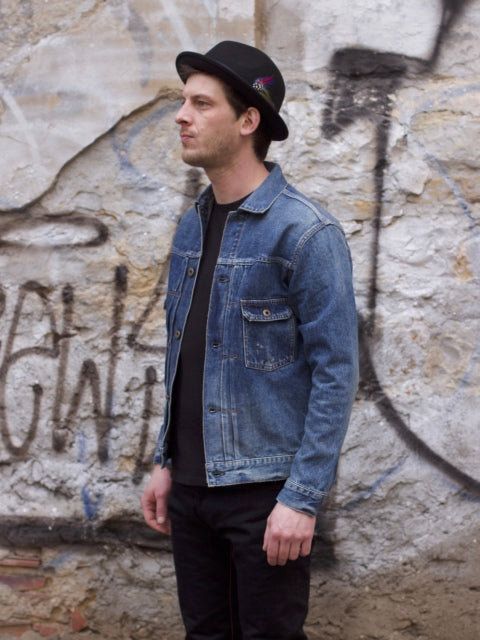 Japan Blue JBJK1163 Denim Jacket Type II Washed