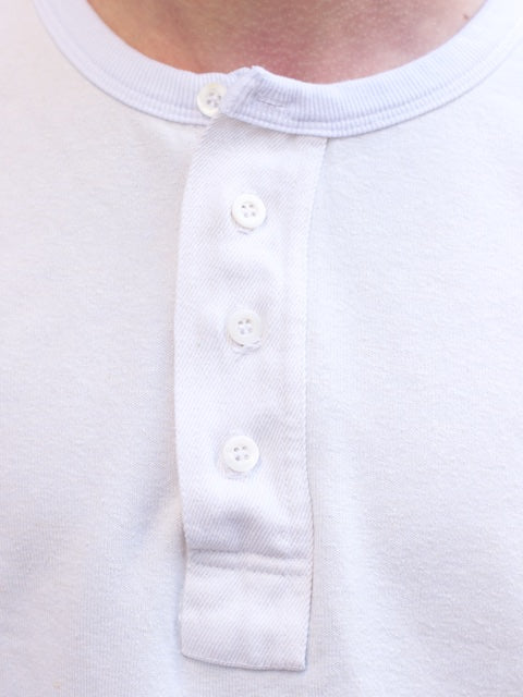Jungmaven Kinevan Henley Optic White