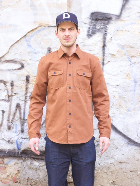 WM A.C. Work Shirt, Monks Robe
