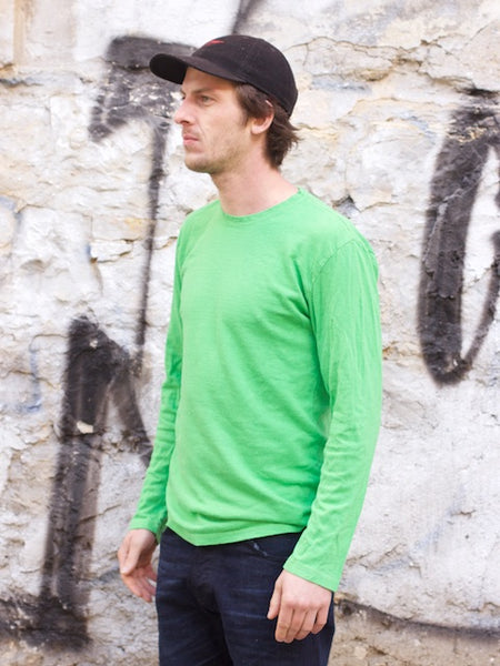 Jungmaven Baja Long Sleeve Parakeet Green
