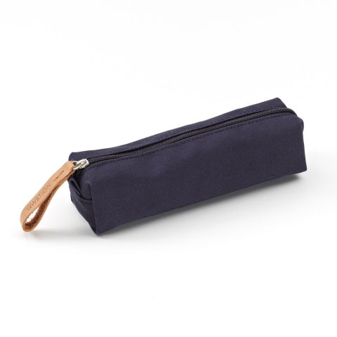 Qwstion Bags Pencil Pouch Organic Navy