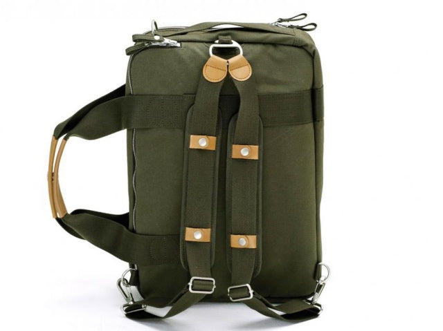 Qwstion Bags Weekender Organic Forest Green