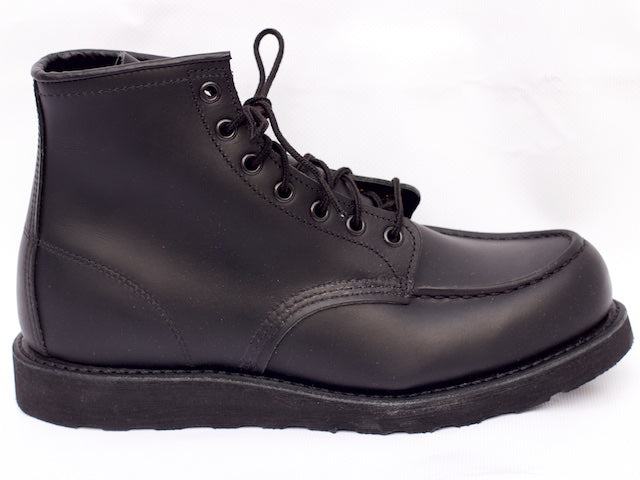 Red Wing Moc-Toe Black Skagway