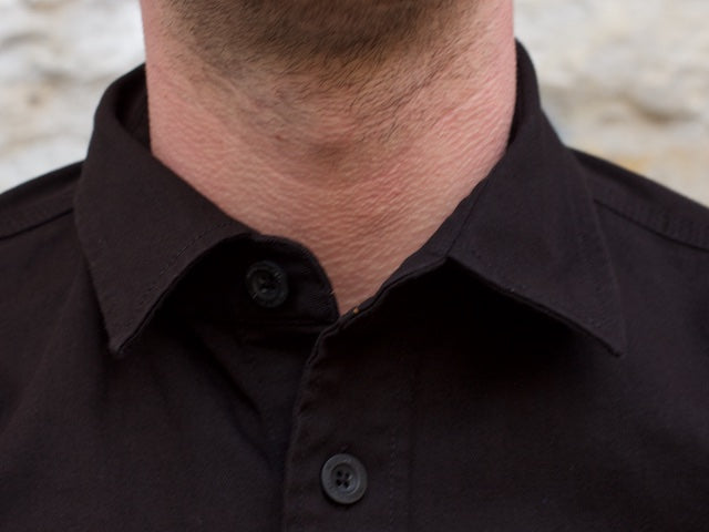 Wrenchmonkees Work Shirt, Jet Black