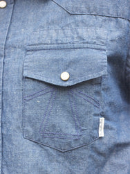 Eat Dust Riders Shirt Chambray