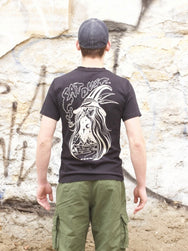 Eat Dust Wizard Pocket T-shirt Black