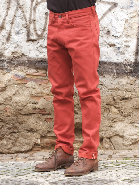 Indigofera Nash Red Selvage
