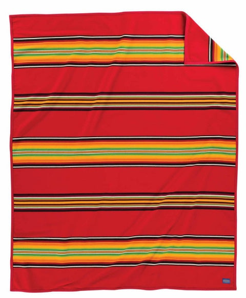 Pendleton Serape Bright Red